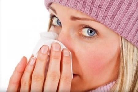 Стадии симптомов насморка